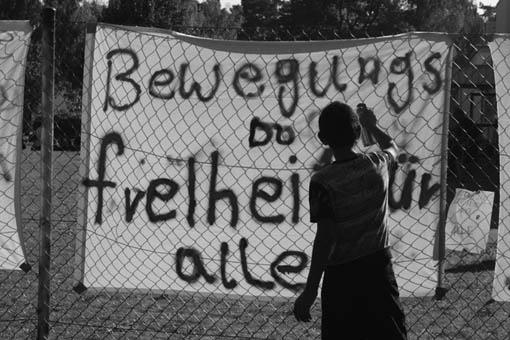 Proteste in Horst